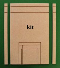 1748 Large universal chimney breast kit